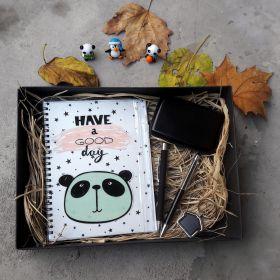 Sevimli Panda Temalı -Kişiye Özel Hediye