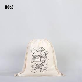 Büzgülü Boyanabilir Çanta