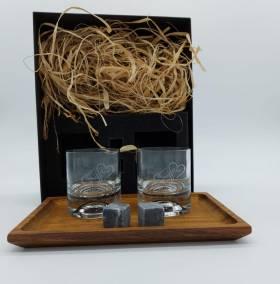 Sıvama kutuda viski bardağı seti