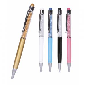 Taşlı Metal Tükenmez Kalem