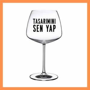 Mirage Kırmızı Şarap Kadehi Kişiye Özel