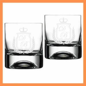 İsme Özel Taç Desenli Viski Bardağı
