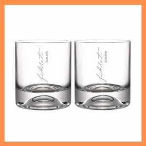 İsme Özel Tarihli İkili Viski Bardağı
