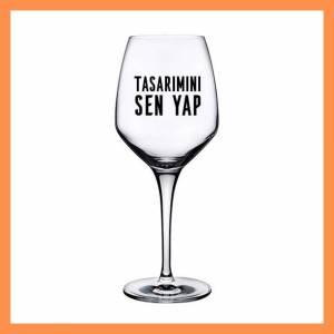 Kişiselleştirilebilir Tasarım İsme Özel Şarap Kadehi